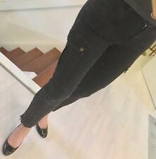 Cambio Stretch Röhre Hose slim Jeans Pants DG 36/38 schwarz hohe stretchanteil