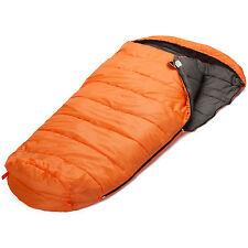 skandika Vegas Saco dormir XXL -12°C acoplable izquierda naranja 220x110cm nuevo
