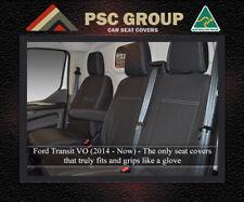 Seat Cover Ford Transit Front Bench Bucket FB + 1 Pocket Premium Neoprene