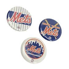 New York Mets Baseball Pin Button Vintage Lot
