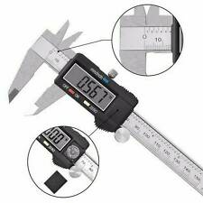 LCD Metal Digital Gauge Vernier Caliper Electronic Micrometer Tools 150mm 6inch