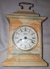 Aynsley Portlandware Ornate English Mantel Clock