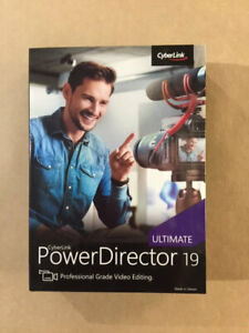 Cyberlink PowerDirector 19 Ultimate - AU STOCK