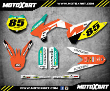 KTM 85 SX 2013 - 2017 Full Custom Graphic Kit RECKLESS STYLE decals / stickers