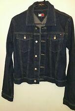 Vintage Tommy Jeans Tommy Hilfiger Blue Denim Button Up Junior's Jacket Large