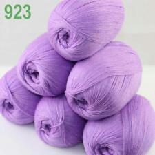 AIP 6 Balls x50gr LACE Soft Acrylic Wool Cashmere Hand Knit Crochet Wrap Yarn 23