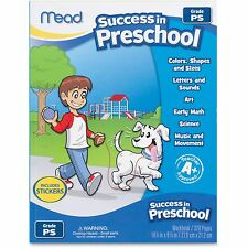 Mead Success In Preschool Workbook, 320 Pgs, Ast 48108