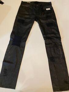 NWT Diesel Black Gold leather pants $1200