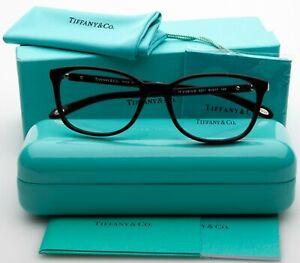NEW TIFFANY & Co. TF 2109-H-B 8201 BORDEAUX MARBLE EYEGLASSES GLASSES 51mm Italy