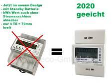 Drehstromzähler für Hutschiene - MID Geeicht - inkl. S0 / Impulsausgang