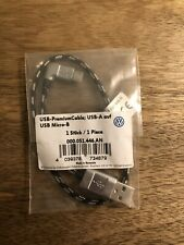 Geniune VW USB Cable USB Micro-B Android 000051446AN