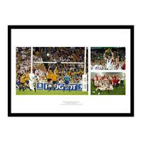 England 2003 Rugby World Cup Memorabilia Photo Montage (ENMU03)