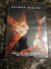 New Sealed Batman Begins Dvd Widescreen