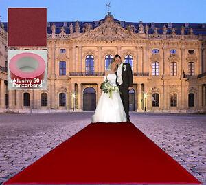 Occasion Hochzeits Foncé Tapis Rouge B1 Vip 130x1950 CM