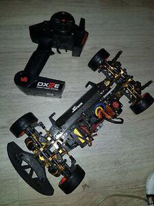 TD402007 DEX410x klar incl Dekorbogen und Masken Team Durango Karosse