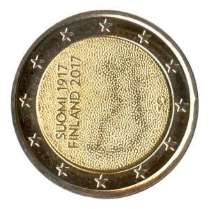 2 Euro Münze Finnland 2017 Unabhängigkeit Gedenkmünze Sondermünze