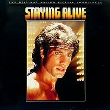Staying Alive (1983) Bee Gees, Frank Stallone, Cynthia Rhodes.. [LP]