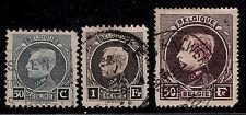 BELGIUM 1921 - 1932 Old Stamps - King Albert I