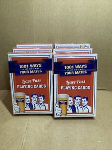 CARLTON MID BEER PLAYING CARDS - BNIP - UNOPENED AND SEALED (2-19)