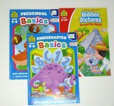 Kids Activity Educational Books Preschool Kindergarten Basics Hidden Pictures
