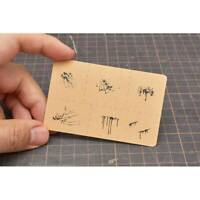 1PCS Airbrush Stencil Special Splashe Effect Tool for 1/35 1/48 Model LIANG-0005