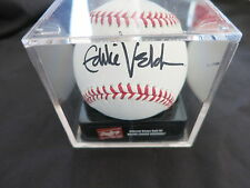 EDDIE VEDDER SIGNED OFFICIAL BASEBALL COA + PROOF! PEARL JAM CHICAGO CUBS RARE!