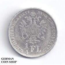 1/4 Florin Gulden 1859 M Mailand Franz Joseph I.- Österreich Austria SEHR SELTEN