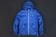 Penfield Nylon Parka Jacket Size S Blue Winter Coat Rain