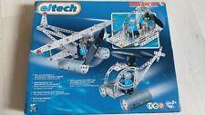 Eitech Metallbaukasten Solar Flugzeug Hubschrauber Construktion 8+