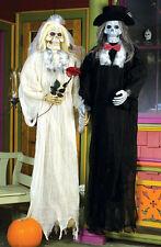 Skeleton Bride and Groom Halloween Prop Decoration Haunted House Prop