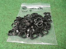 50  SNP8 .524 to .599 Snapper Black plastic hose clamps Hellerman Tyton