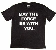 STAR WARS Galaxy T-shirt MAY THE FORCE BE WITH YOU Vintage Movie Tee Adult XL