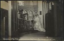 London Fleet Street photo. Wedding of Rev Gillingham & Mary Matthews 1910 # 3.