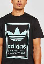 adidas Originals Men's Vintage Tee Black XL -