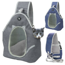 Pet Carrier Bag for Cats Rabbit Puppy Small Dog Shoulder Sling Carry Bag Front