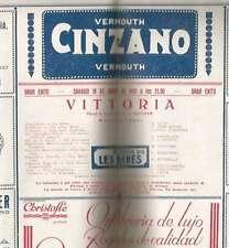Programme Odeon Theater R Lupi N Pescatori Paola Borboni 1931