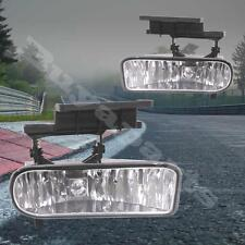 1 Pair Clear Len Replacement Driving Fog Lights + Lamp 1999-2002 Silverado