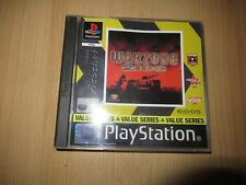 Warzone 2100 PS1 PlayStation 1 PAL  mint collectors