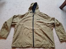Vintage 90s Mens XXL TIMBERLAND PERFORMANCE rain coat SPELL OUT wu tang mob deep