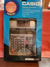 Casio Printing Calculator HR-100TM Plus Printer
