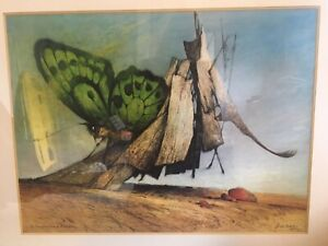 Limited Edition signed 1972 Ainslie Roberts Painting
