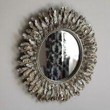 Runde Deko-Spiegel aus Holz