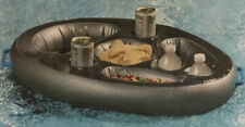 Inflatable Pool Float Tray with Cupholder