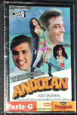 SAJID NADIADWALAS ANDOLAN   IMPORT INDIAN CASSETTE BOLLYWOOD  NEW  SEALED