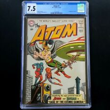 The Atom #7 (DC 1963) 💥 CGC 7.5 💥 1st Hawkman Crossover! Gil Kane Comic