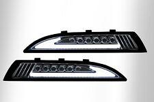 VW Scirocco 3 LED Frontblinker mit Standlicht schwarz smoke