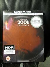 2001 A Space Odyssey 4K Uhd Blu-Ray Steelbook [Uk] Region Free New Sealed Rare