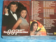 James Bond 'TOMORROW NEVER DIES' Complete Base Set Of 90 Trading Cards 007 1997