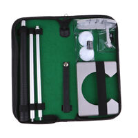 Travel Golf Putter Gift Set Putting Cup Hole with Detachable Putter Balls