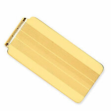 Yellow Gold Men's Money Clips